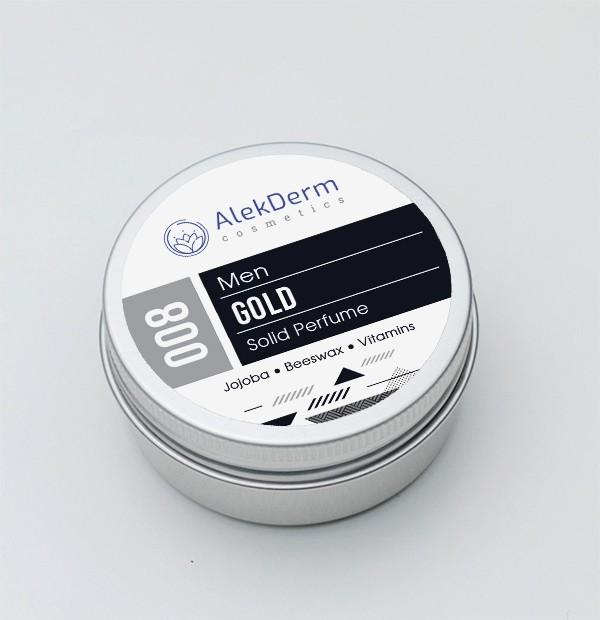008 Gold for men - Čvrsti parfem AlekDerm