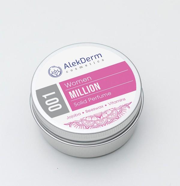 001 Million for Woman - Čvrsti parfem AlekDerm