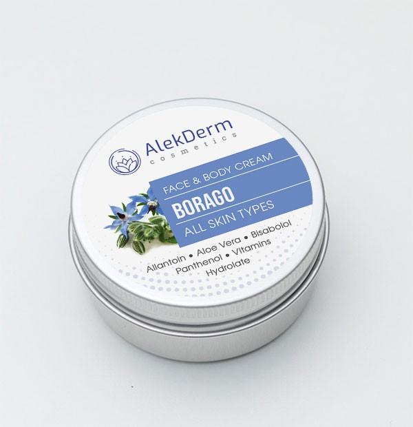 BORAGO KREM - AlekDerm Face & Body Cream