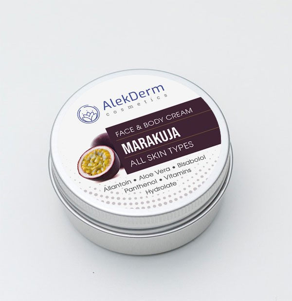 MARAKUJA KREM - AlekDerm Face & Body Cream