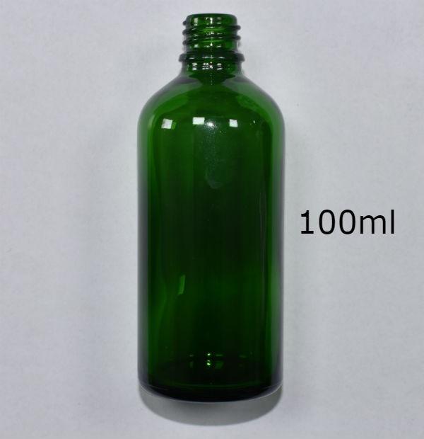 ZELENA BOCA STAKLENA 100ml (18mm grlo)