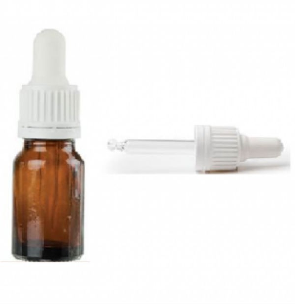 BOCA STAKLENA 30ml SA PIPETOM BELOM