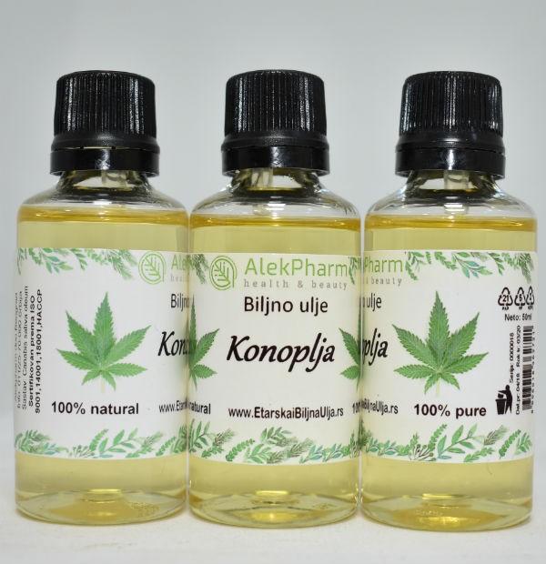 KONOPLJA - biljno ulje