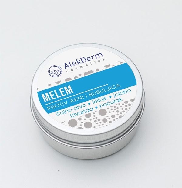 Melem protiv akni i bubuljica AlekDerm