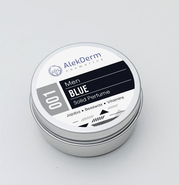001 Blue for men - Čvrsti parfem AlekDerm