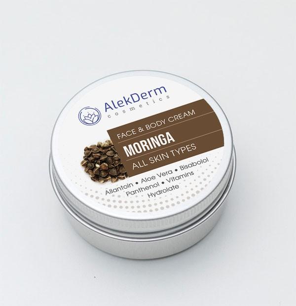MORINGA KREM - AlekDerm Face & Body Cream