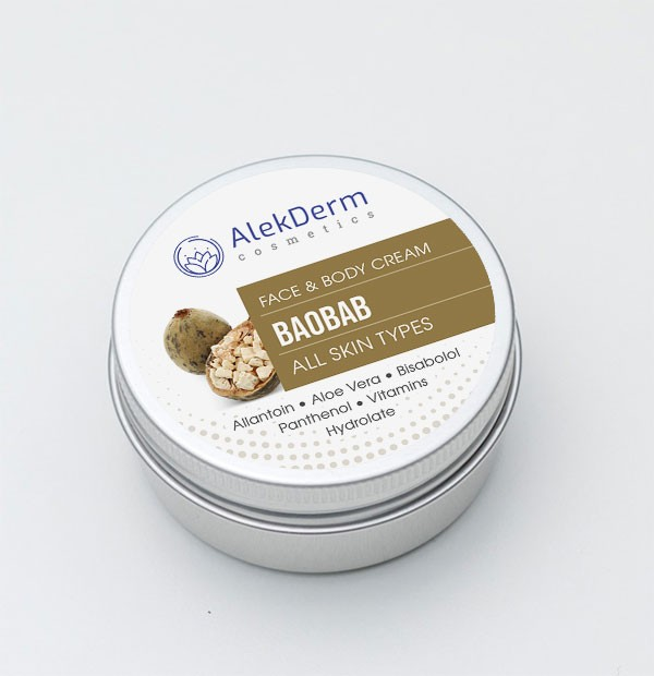 BAOBAB KREM - AlekDerm Face & Body Cream