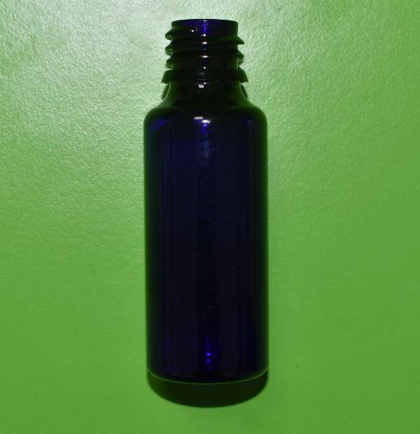 PLASTIČNA BOCA COBALT PLAVA 100ML (opcije:čep sa ili bez kapaljke, sprej raspšrivač, gel serum pumpica)