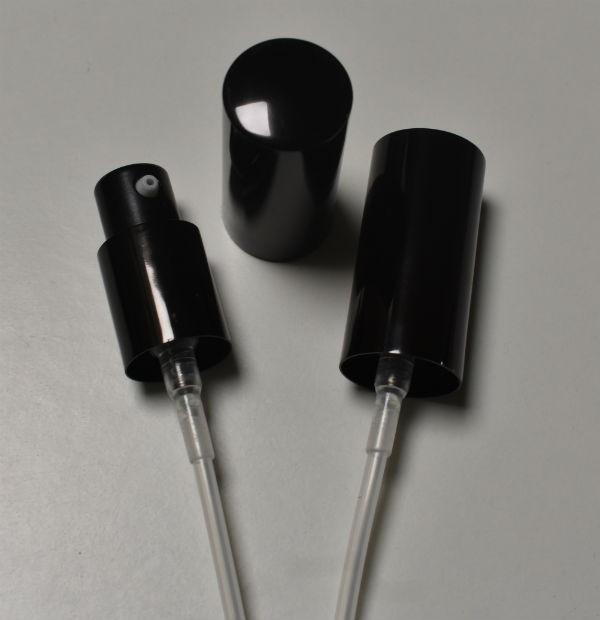ALU BLACK SERUM - GEL DISPENZER PUMPICA 18mm NAVOJ