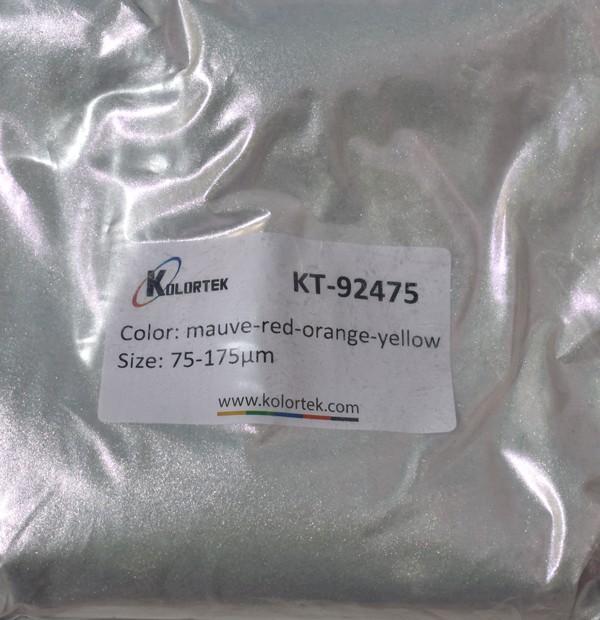 92475 CLEAR MAUVE-RED-ORANGE-YELLOW CHAMELEON EFEKTNI PIGMENT
