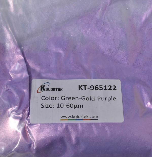965122 GREEN-GOLD-PURPLE CHAMELEON EFEKTNI PIGMENT