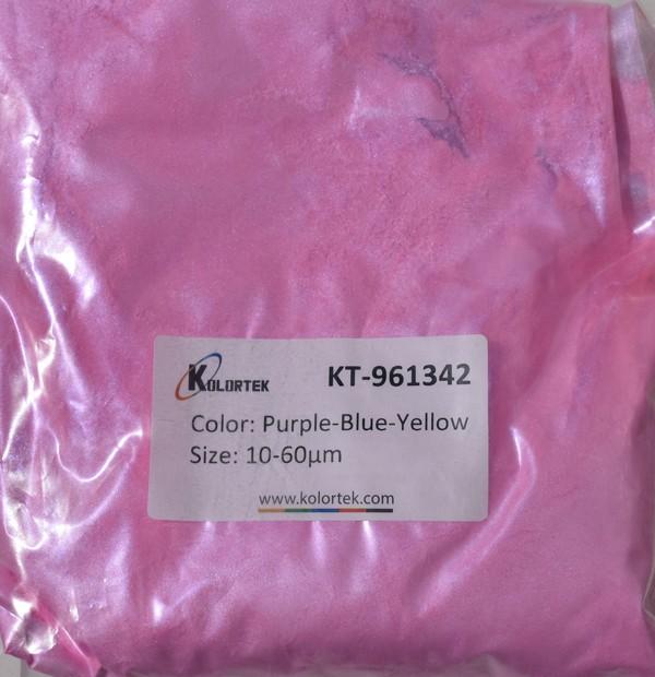 961342 PURPLE-BLUE-YELLOW CHAMELEON EFEKTNI PIGMENT