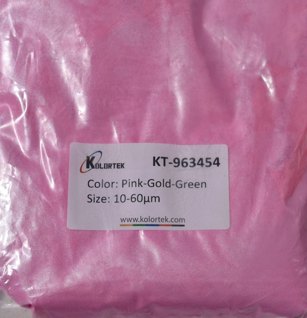 963454 PINK-GOLD-GREEN CHAMELEON EFEKTNI PIGMENT
