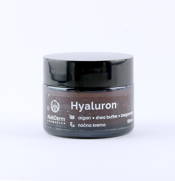 Hyaluron noćna krema AlekDerm