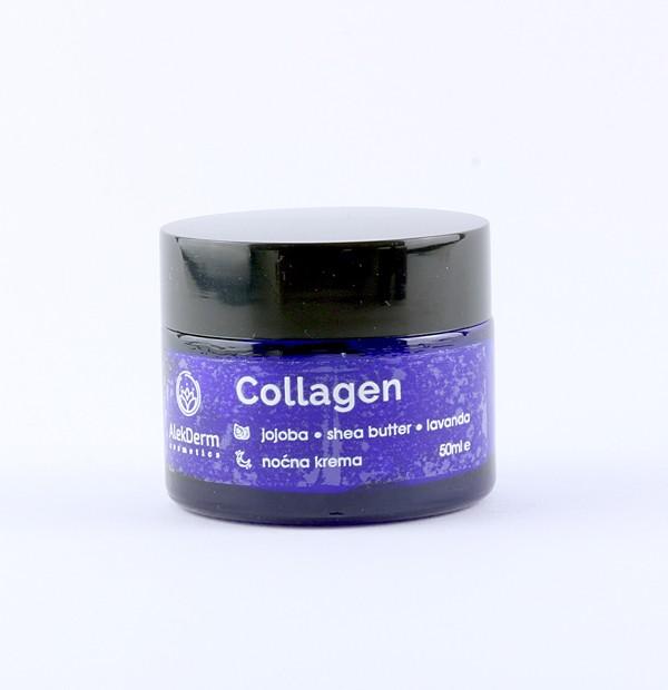 Collagen noćna krema AlekDerm
