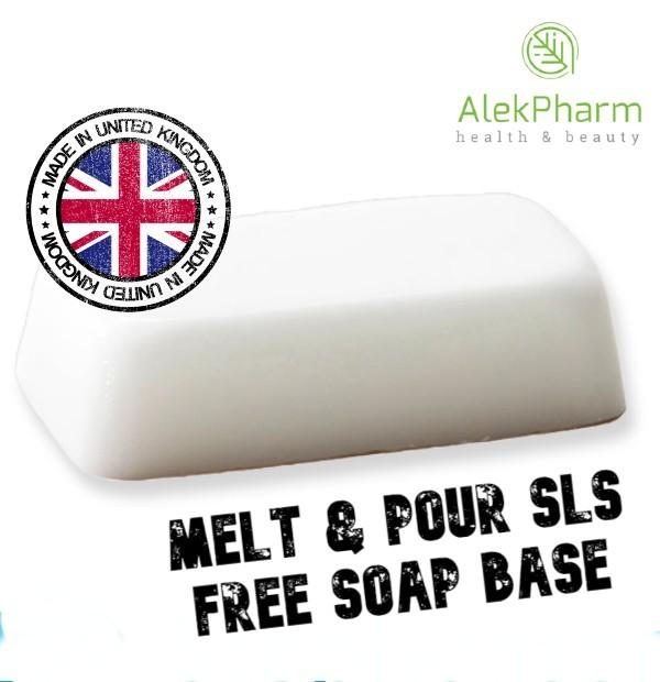 SLS FREE BELA SAPUNSKA BAZA - Melt & Pour SLS - Free Soap Base