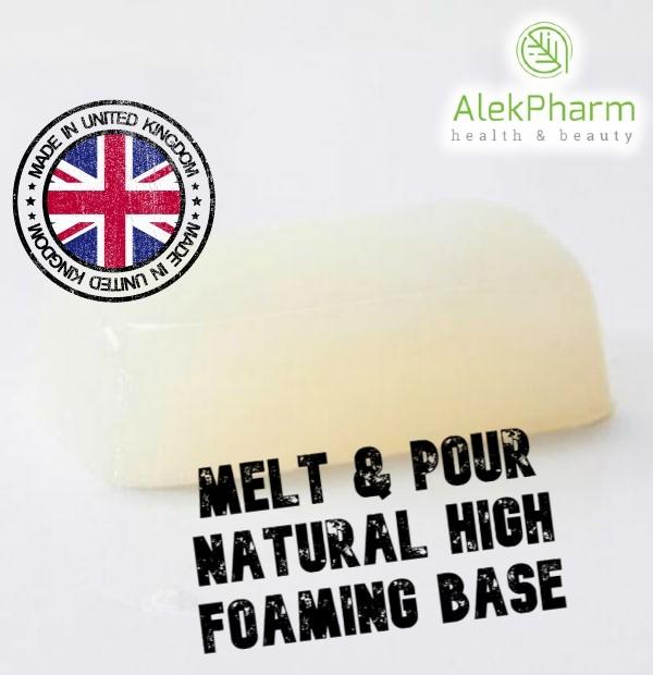 SAPUNSKA BAZA EXTRA PENUŠAVA - Melt & Pour Natural High Foaming Base