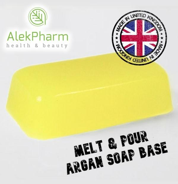 SAPUNSKA BAZA SA ARGANOM - Melt & Pour Argan Soap Base